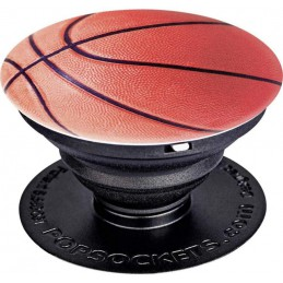 PHONE GRIP & STAND BASKET BALL
