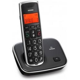 TELEFONO CORDLESS BRONDI BRAVO GOLD 2 NERO