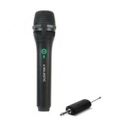 Microfono Wireless Con Ricevitore Ricaricabile