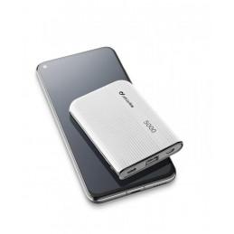 CARICABATTERIA EMERGENZA 5000 USB-C BIANCO