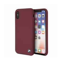 COVER BMW IN SILICONE PER IPHONE X/XS ROSSA