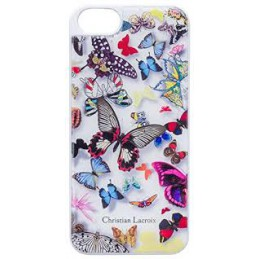 COVER CHRISTIAN LACROIX BUTTERFLY COLLECTION RESINE INJECTED MADE IN FRANCE  White