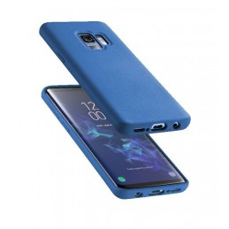 COVER SOFT TOUCH GALAXY S9BLU