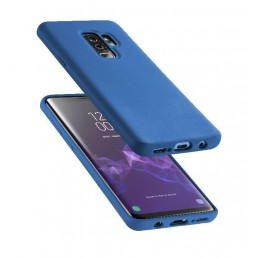 COVER SOFT TOUCH GALAXY S9 PLUS BLU