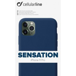 COVER SOFT TOUCH IPHONE 11 PRO BLU