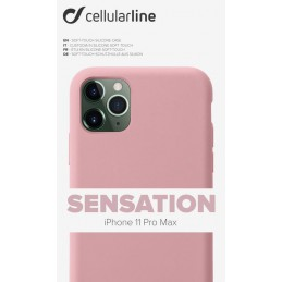 COVER SOFT TOUCH IPHONE 11 PRO MAX ROSA