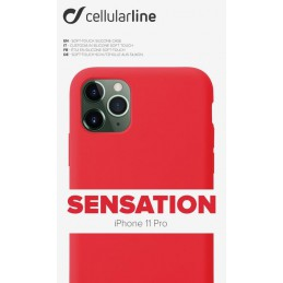 COVER SOFT TOUCH IPHONE 11 PRO ROSSO