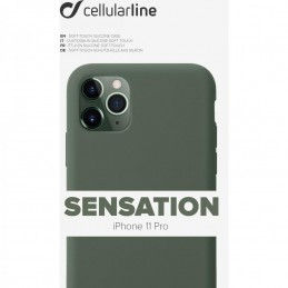 COVER SOFT TOUCH IPHONE 11 PRO VERDE