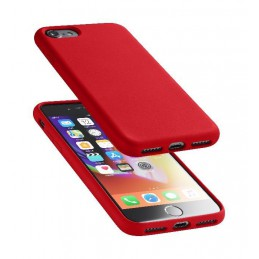 COVER SOFT TOUCH IPHONE 6 / 6S /  7/ 8 / SE ( 2020 )ROSSO