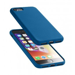 COVER SOFT TOUCH IPHONE 6 / 6S /  7/ 8 / SE ( 2020 ) BLU