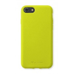 COVER SOFT TOUCH IPHONE 6 / 6S /  7/ 8 / SE ( 2020 ) LIME FLUO