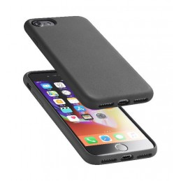 COVER SOFT TOUCH IPHONE 6 / 6S /  7/ 8 / SE ( 2020 ) NERA