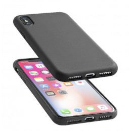 COVER SOFT TOUCH IPHONE X / XS NERO