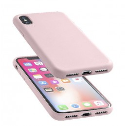 COVER SOFT TOUCH IPHONE X / XS ROSA