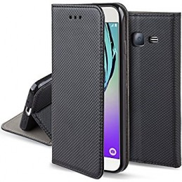 CUSTODIA BOOK MAGNETICA PER LG K10 K420 BLACK