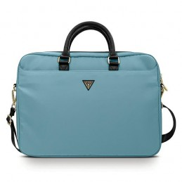 BORSA PER NOTEBOOK GUESS SINO A 16 BLU