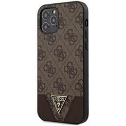 COVER GUESS IPHONE 12 / 12 PRO BROWN