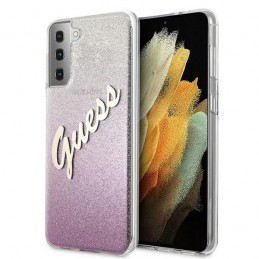 COVER GUESS SAMSUNG GALAXY S21 GLITTER PINK