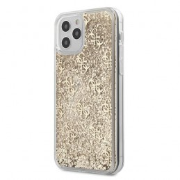 COVER HARD GUESS GLITTER APPLE IPHONE 12 PRO MAX GOLD