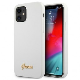 COVER SOFT TOUCH GUESS BIANCA IPHONE 12 mini