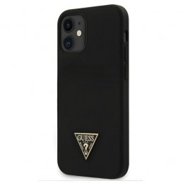 COVER SOFT TOUCH GUESS NERA IPHONE 12 mini