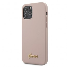 COVER SOFT TOUCH GUESS ROSA IPHONE 12 PRO MAX