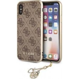 HARD CASE CHARMS COLLECTION IPHONE X MARRONE