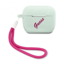 COVER GUESS AIRPODS PRO SILICONE PINK