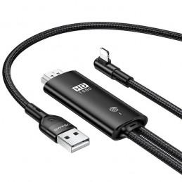 Cavo HDMI USAMS - Lightning U53 2 m nero