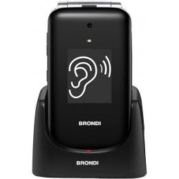 TELEFONO CELLULARE BRONDI AMICO AMPLI VOX NERO/SILVER