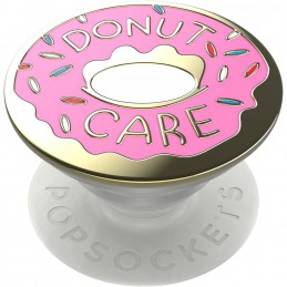 PHONE GRIP & STAND DONUT PINK