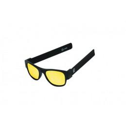 CLACK BLACK/BLACK POLARIZED YELLOW MIRROR LENSCAT 3 UV400 Polarizzate antiriflesso effetto specchio Protezione raggi UV-A e UV-