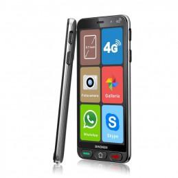 TELEFONO CELLULARE BRONDI AMICO SMARTPHONE S 4G DOPPIA FOTOCAMERA 5Mp+5Mp DISPLAY DA 5,7 ANDROID 8.1