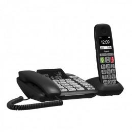 TELEFONO COMBO GIGASET DL780 PLUS + CORDLESS NERO