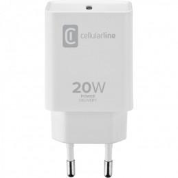 CARICABATTERIA DA RETE USB-C 20 Watt BIANCO