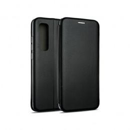 book a03s con porta carte di credito chiusura magnetica black